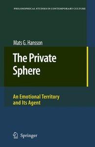 The Private Sphere