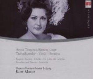 Tomowa-Sintow Singt Tschaikowsky/Verdi/Strauss