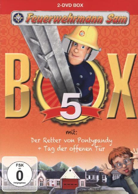 Feuerwehrmann Sam - Box 5 - zum Schließen ins Bild klicken