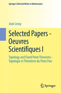 Selected Papers - Oeuvres Scientifiques I