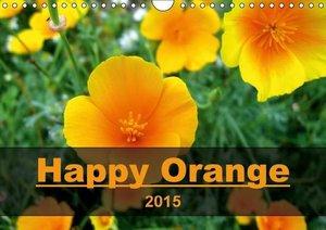Happy Orange (Wall Calendar 2015 DIN A4 Landscape)