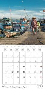 VIETNAM IN FOCUS (Wall Calendar 2015 300 × 300 mm Square)