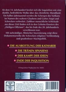 Geheime Dossiers Der Inquisition 1-4