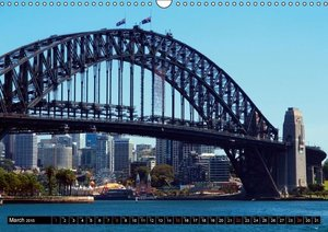 Sydney - Charming Town / UK - Version (Wall Calendar 2015 DIN A3