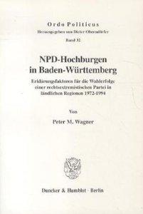 NPD-Hochburgen in Baden-Württemberg.