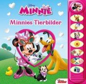 8-Button-Soundbuch Minnies Tierbilder