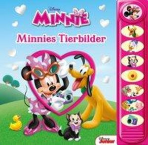 8-Button-Soundbuch Minnies Tierbilder