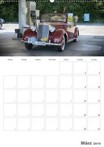 Mercedes Benz 170 SCB (Wandkalender 2019 DIN A2 hoch)