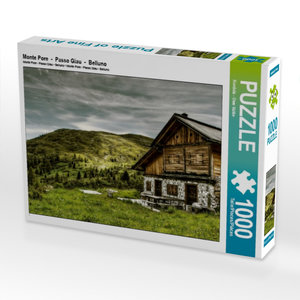 Monte Pore - Passo Giau - Belluno 1000 Teile Puzzle quer