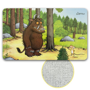 Der Grüffelo - Frühstücksbrettchen Wald