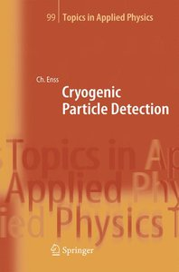 Cryogenic Particle Detection