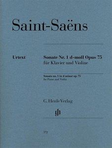 Sonate Nr. 1 d-moll op. 75 für Klavier und Violine