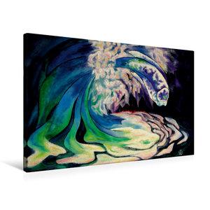 Premium Textil-Leinwand 75 cm x 50 cm quer Das Geschenk