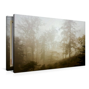 Premium Textil-Leinwand 90 cm x 60 cm quer Heimlich erreichte de
