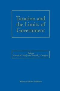 Taxation and the Limits of Government