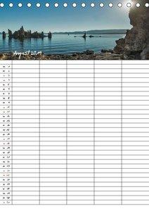 USA / faszinierender Südwesten / Familienplaner (Tischkalender 2