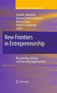 New Frontiers in Entrepreneurship