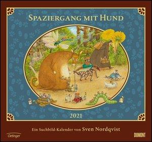 Sven Nordqvist: Spaziergang mit Hund 2021