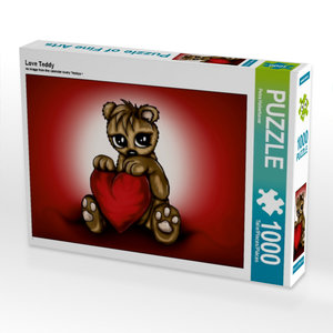 Love Teddy 1000 Teile Puzzle quer