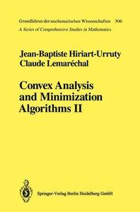 Convex Analysis and Minimization Algorithms II
