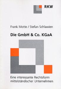 Die GmbH & Co. KgaA