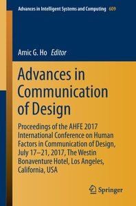 Advances in Communication of Design