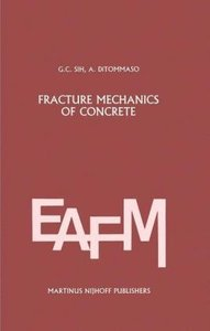 Fracture mechanics of concrete: Structural application and numer