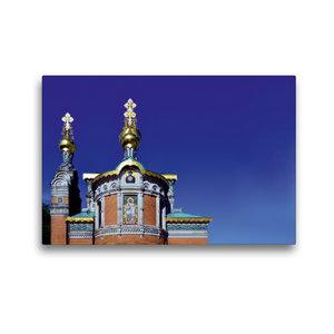 Premium Textil-Leinwand 45 cm x 30 cm quer Russische Kapelle