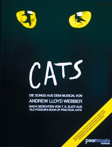 Cats, Songbook für Klavier, Gesang und Gitarre