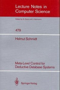 Meta-Level Control for Deductive Database Systems