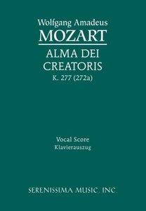 Alma Dei Creatoris, K. 277 (272a) - Vocal Score
