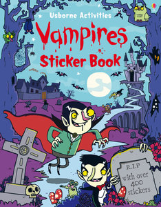 Vampires Sticker book