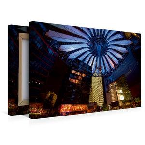 Premium Textil-Leinwand 45 cm x 30 cm quer Sony Center / Berlin
