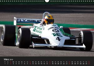 Historic Formula One 2019 (Wandkalender 2019 DIN A3 quer)