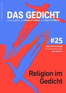 Das Gedicht. Zeitschrift /Jahrbuch für Lyrik, Essay und Kritik /