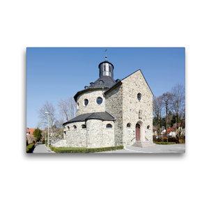 Premium Textil-Leinwand 45 cm x 30 cm quer Sankt Martinskirche H