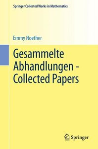 Gesammelte Abhandlungen - Collected Papers
