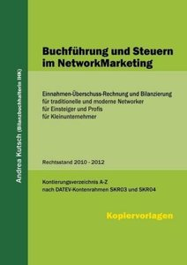 Buchführung und Steuern im NetworkMarketing