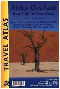 Africa Overland Travel Atlas 1 : 3 400 000