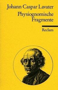 Physiognomische Fragmente zur Beförderung der Menschenkenntnis u