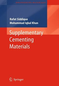 Supplementary Cementing Materials