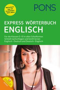 PONS Express Wörterbuch Englisch, mit 1 Buch, mit 1 Online-Zugan