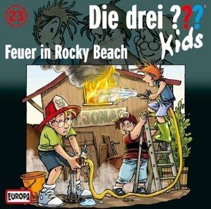 Die drei ??? Kids 23. Feuer in Rocky Beach (drei Fragezeichen)