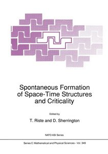 Spontaneous Formation of Space-Time Structures and Criticality