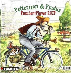 Pettersson und Findus Familienplaner 2017 Media Illustration