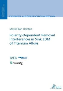 Polarity-Dependent Removal Interferences in Sink EDM of Titanium
