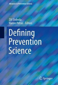 Defining Prevention Science