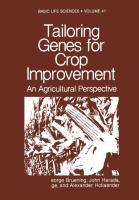 Tailoring Genes for Crop Improvement - zum Schließen ins Bild klicken