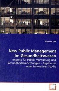 New Public Management im Gesundheitswesen