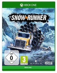 SnowRunner, 1 Xbox One-Blu-ray Disc (Standard Edition)
